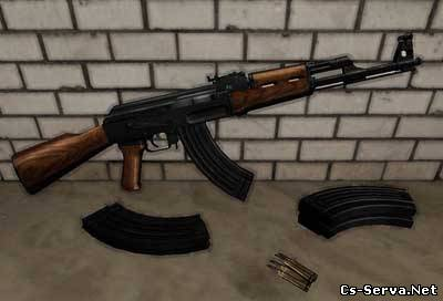 AK47 on MW animations