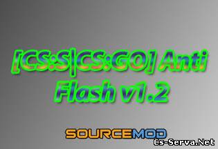 Плагин Anti Flash v1.2 для CS:GO