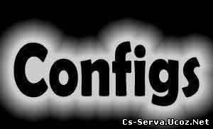 Мой config для Counter Strike 1.6(Config by JERREMY)