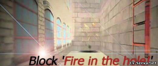 Плагин Block 'Fire in the hole!'