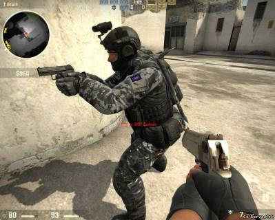 Скин игроков Seal Team 6 Snow Pack для CS:GO
