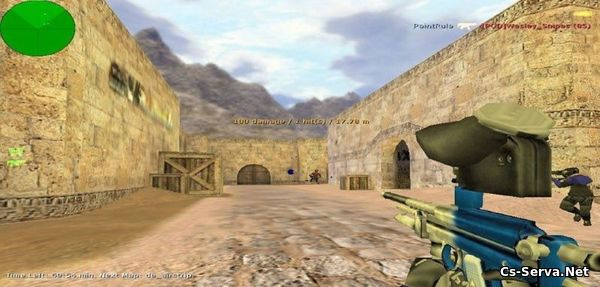 Мод PaintBall Mod v1.1 для CS 1.6